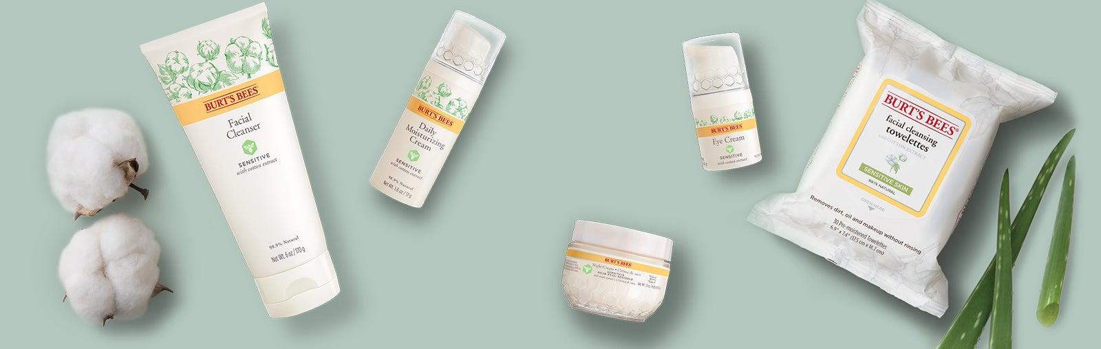 Productos naturales para pieles sensibles